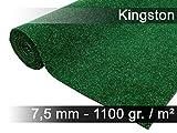 Snapstyle Komfort Kunstrasen Rasenteppich mit Noppen Kingston Grün Mix in 19 Größen