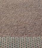 Rasenteppich Kunstrasen 200 cm Breite Farbe beige-braun (100 x 200 cm)